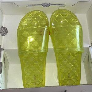 Aldo Acussi Neon Slides